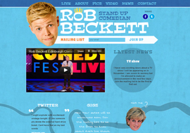 Rob Beckett – Stand Up Comedian