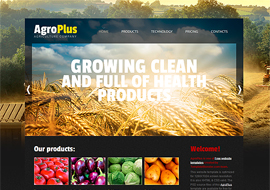 AgroPlus – Free HTML5 Template