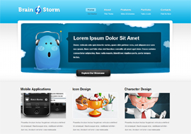 BrainStorm – Free HTML5 Website Template