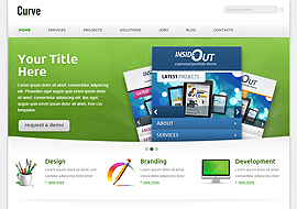 Curve- Free Responsive Corporate Template