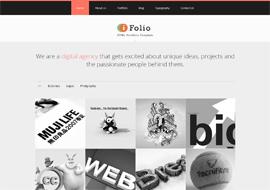 iFolio – Premium Responsive HTML5 Portfolio Website Template
