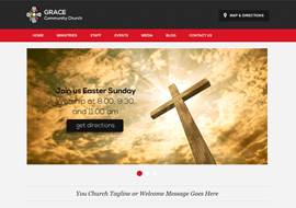 Zion Church – Free HTML5 WordPress Theme for Churches