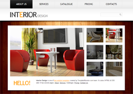 Interior Design – Free HTML5 CSS3 Template