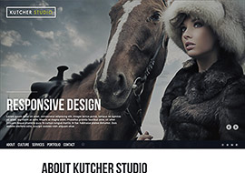 Kutcher Studio Template