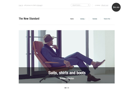 New Standard – Shopify's new official theme FREE