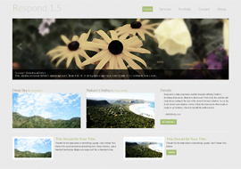 Respond – Free Responsive Template