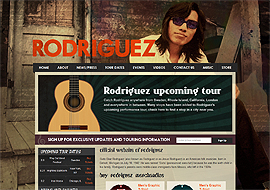 Official Website of Rodriguez