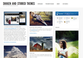 Shaken- Free Responsive WordPress Theme