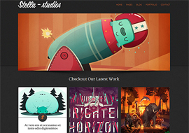 Stella Studios – Premium Responsive Html Template