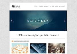 Filtered Premium Responsive Theme
