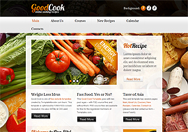 Free HTML5 Restaurant Template