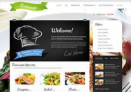 Restaurant Joomla Theme