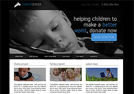Free HTML5 Charity Template