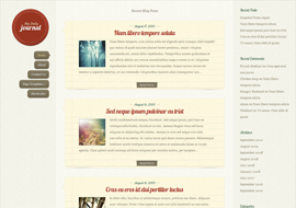 DailyJournal Responsive Blog WordPress Theme Free