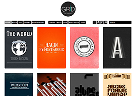 Responsive Grid Theme Free Download