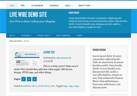 Awesome Responsive Blog Theme Free Download