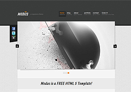 Modus Free HTML5 Template