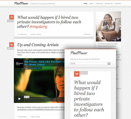 Responsive WordPress Blog Theme Free Download