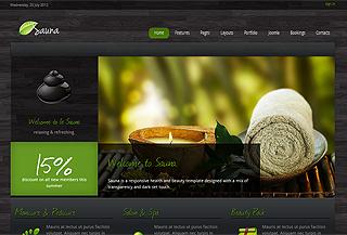 Sauna Premium Joomla Theme