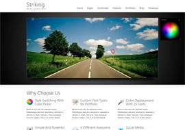 Premium HTML5 Corporate WordPress Theme free download