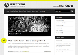 Busby – Free WordPress Theme