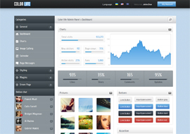 Color Life – HTML5 Admin Template