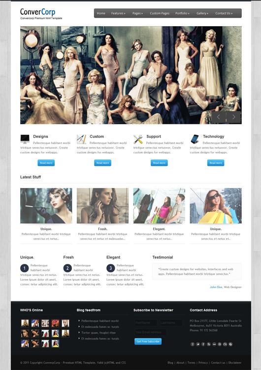 Convercorp – Premium HTML5 Template