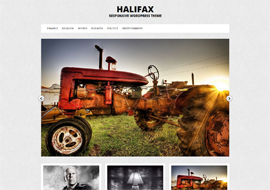 Halifax- Responsive WordPress Theme