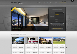 HomeQuest – Real Estate WordPress Theme
