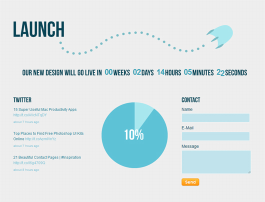 Launch – Premium Coming Soon Template
