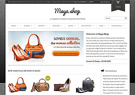 MayaShop– Premium Responsive e-Commerce Theme Free Download