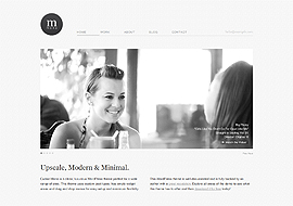Cudazi Mono – Modern and Minimal Free WordPress Theme
