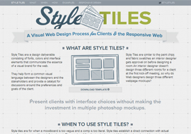 Style Tiles – Free Responsive HTML5 Template