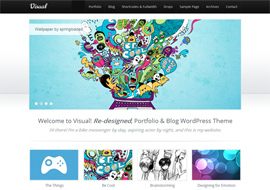 Visual – Premium HTML5 WordPress Theme