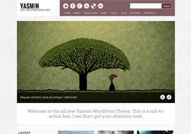 Yasmin – Free HTML5 WordPress Responsive Theme