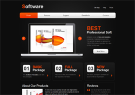 Software- Free HTML5 Template