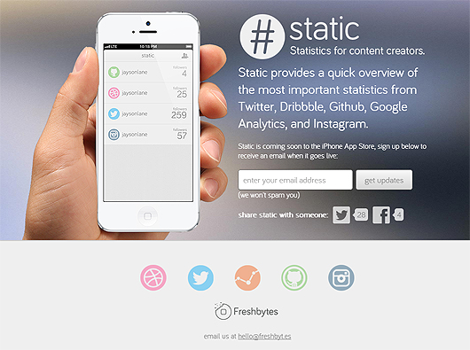 Static for iPhone