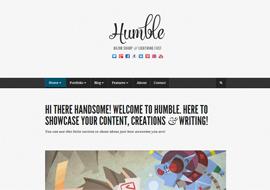 Humble – Premium Responsive WordPress Template