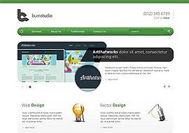 Burn Studio – Free HTML5 Responsive Template