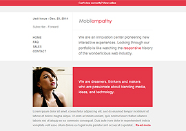 Mobilempathy – Responsive Email Template