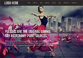 Pulsar – Fully Responsive Parallax WordPress Theme