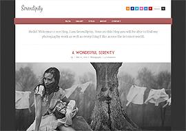 Free HTML5 Template – Serendipity