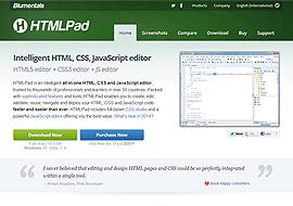 HTMLPad HTML5 editor