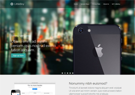 LittleBoy joomla Template