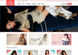Luxury – Responsive Magento Theme