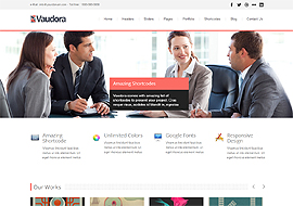 Vaudora Premium Responsive Multi Purpose WordPress Theme