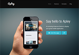 Apley – WP Responsive Mobile Application Landing Page