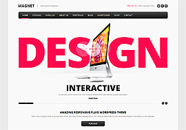 MAGNET – Creative Business WordPress Theme