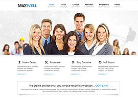 Maxwell – Joomla Multipurpose Template