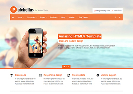 Pulchellus – Responsive HTML5 Template